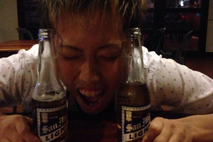 フィリピンのビールのサンミゲルライト
