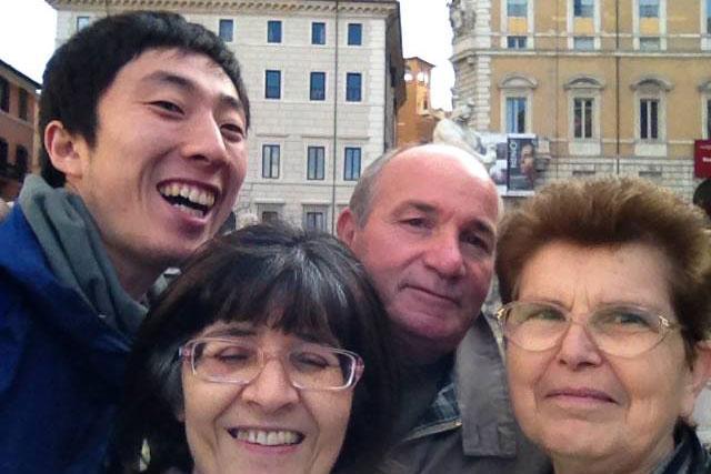 英語留学後のイタリア旅行