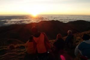バギオ観光ではパワースポットとして知られる山に行かれる生徒もいるそうです。