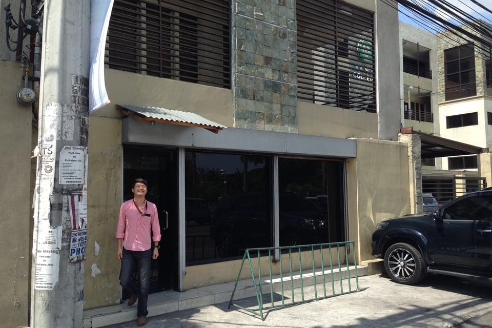 クラークフィリピン留学院のオフィスはJocson大学のすぐ横