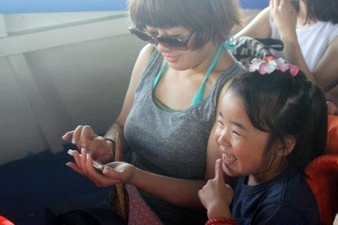 フィリピンの親子留学を子供は楽しんでいた