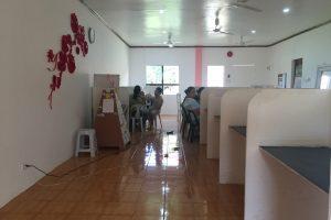 ドゥマゲテのスターティング・ポイント・イングリッシュ・アカデミー(SPEA)の教室