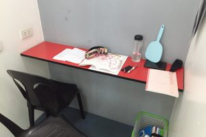 セブのサウスピークのプレミアム校舎の各自の自習室があるので英語学習環境としてオススメ