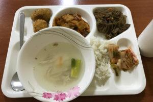セブJICの食事、韓国料理
