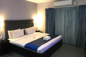 iYESホテルフリープラン。予算によって滞在部屋は変わる。値段は高いがバルコニー付きリゾートホテルに滞在も可能