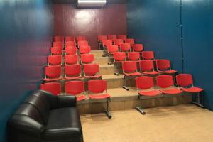 セブ島のZA Englishマボロ校の映画館