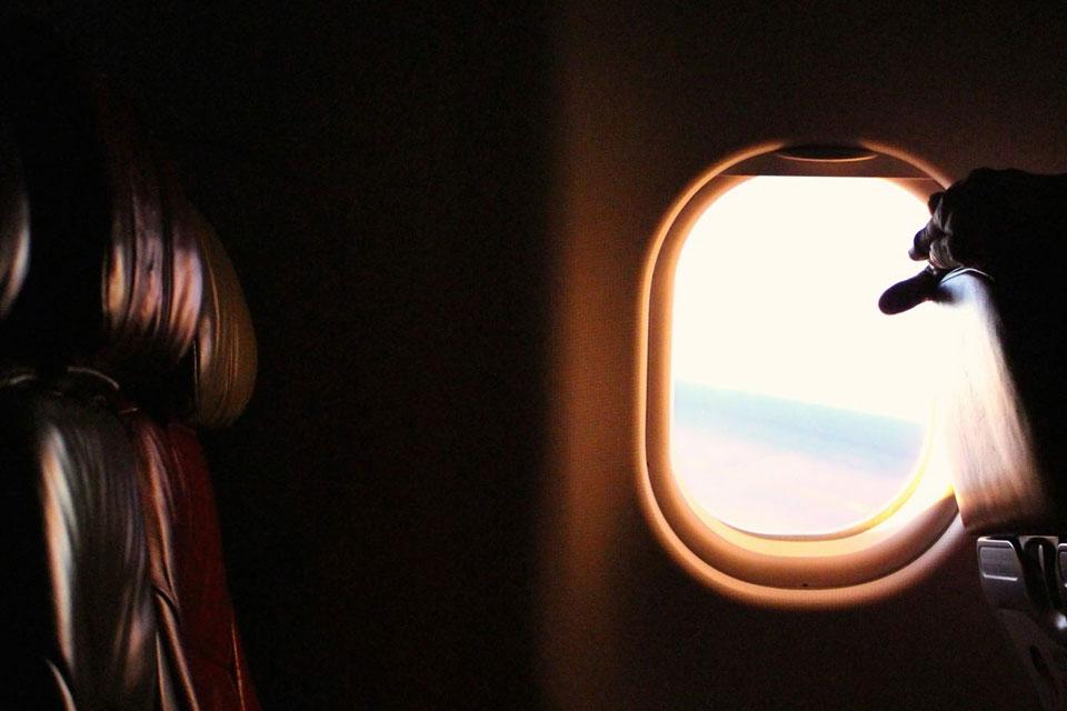 セブ弾丸1週間留学のレポート、帰国の飛行機より